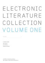 Electronic Literature Collection volume 1