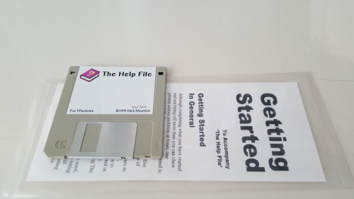 The Help File disk